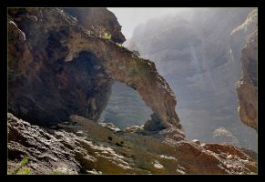 The Gorge Masca On Tenerife - 1 by skarzynscy