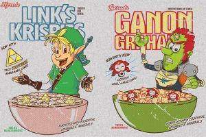 Zelda brand cereal by TeegKetchen