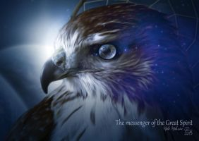 The messenger of the Great Spirit by MelieMelusine