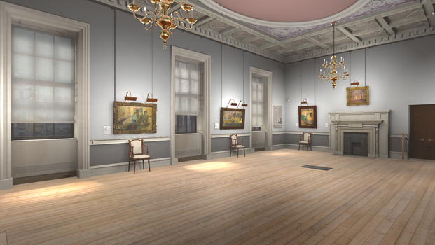 Courtauld Gallery 1 by LaJolly