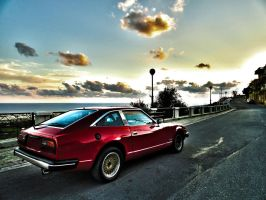1979 Datsun 280ZX rear view by ryn004