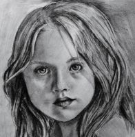 .: drawing of a young lady :. by Scarry