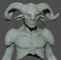 Pan's Labyrinth Fanart! W.I.P. Update by Rafferty-Eggleston