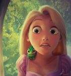 Rapunzel Digital Painting + Steps by crystal-89