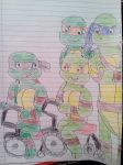 Tmnt more Donnie and Mikey with Trent and Ryan by aliciamartin851