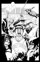 NEW YORK KNICKS by knockmesilly