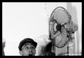 Fan of a Fan by andrewapuya