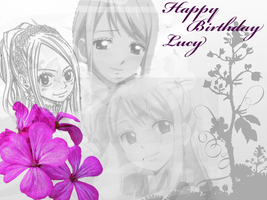 Happy Birthday Lucy by beatress16