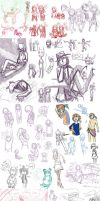 Here, have a big sketchdump by kidann