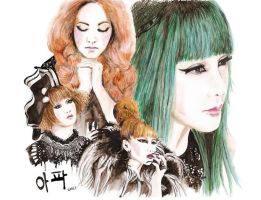 2NE1- It hurts... by Katie-Woodger