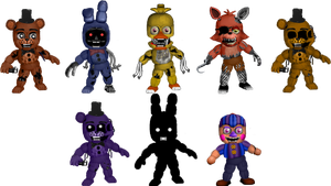 Five Nights at Freddybab's 2 (Wave 2) by BlackFoxPixels