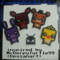 Five nights at Freddy's. by VoxelPerlers