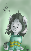 Temmie by Tacky-tella