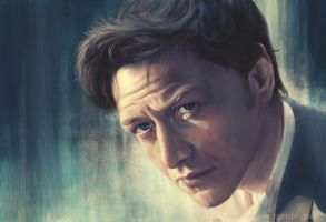 The Coffee Stain - James McAvoy by margaw