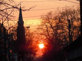 As The Sun Sets Over Brooklyn by Brooklyn47