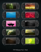PSP Wallpaper Pack by TheAL