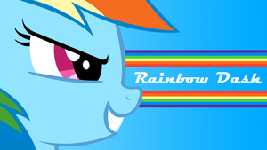 Rainbow Dash 'Success' Wallpaper by techs181