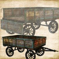 Not So Shiny Wagon by Just-A-Little-Knotty