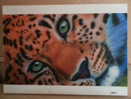 leopard airbrush by ox4dboy87