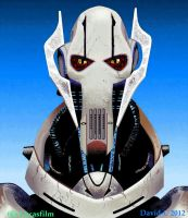 MS Paint General Grievous by David-c2011