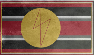 Spartan Infinite Empire flag gift by EmperorMyric
