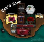 Layout of Erik's Home by DarthxErik
