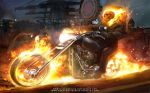 GHOST RIDER by nachomolina