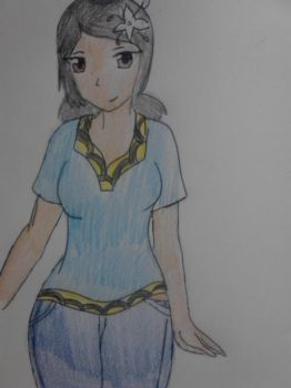 More Tuvalu (Hetalia OC, Casual clothing) by Blackrosehunter