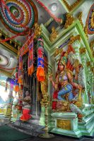 Indian Temple Goddess by SAMLIM