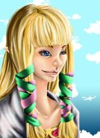 Princess Zelda (Skyward Sword) by Saidorak