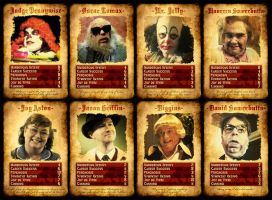Psychoville Top Trumps by Slippery-Jack
