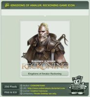 Kingdoms of Amalur Icon by CODEONETEAM