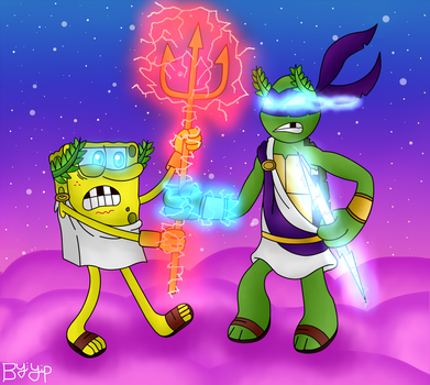 Give back To King Neptune's Magic Trident Now!!! by yipkarhei2001