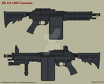 HK 416 LMG by Wolff60