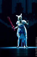 Fionna in Ice Kingdom by KaitoEinsam