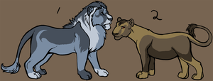 Point adopt - Lions :closed: by Kaeda-adoptables