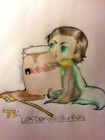 Loki and his Nutella by LxLightfangirl4ever