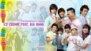 Big Bang Ice Cream Wallpaper by pretisamiyuki43