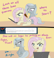 Ask Trixie - No More Shows by TheParagon