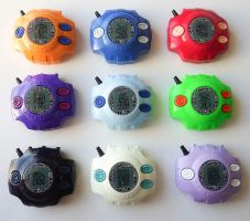 Custom Set of Digivices by ChinookCrafts