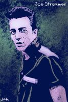 Joe Strummer by jharris