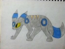 Crystal the shiny Umbreon by SyvaTheWolf123