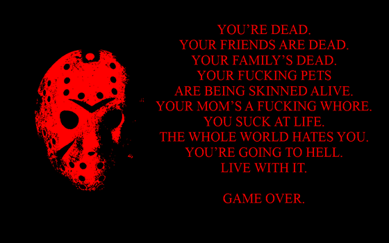 Friday the 13TH -Game Over WP by DTWX