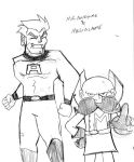 Mr.Awesome and MegaLame by rugdog