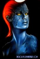 Mystique T-shirt by Jackolyn