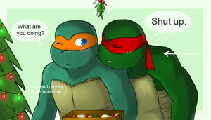 TMNT x-mas gift by chocolatecherry