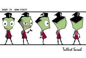 Invader Zim Turn Sheet by Sarah--S
