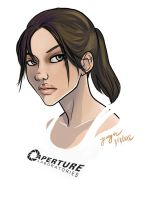 Chell for Portalversary by Yunyin