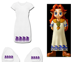 LOZ Malon Costume T Shirt Dress by Enlightenup23