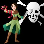 Disney Pirate: Mulan by Willemijn1991
